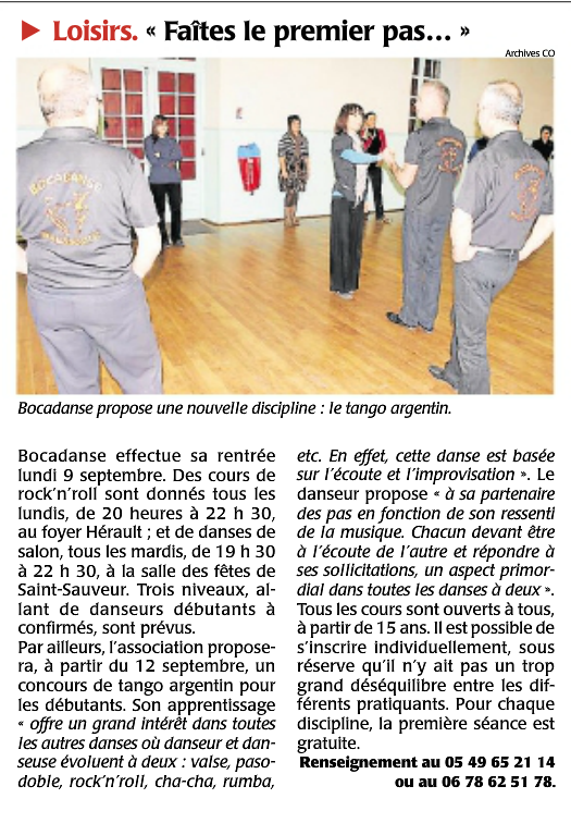 Courrier ouest 2019 09 05
